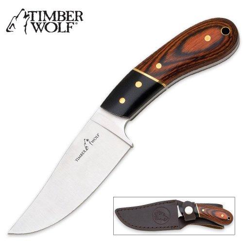 Timber Wolf Skinner Fixed Blade Knife