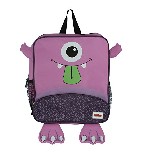 NUBY Insulated Backpack with Lunch Bag Included, Purple