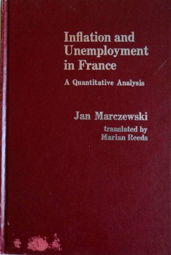 Inflation and Unemployment in France: A Quantitative Analysis