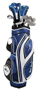 Ben Sayers Men's M11 Right Hand Golf Package Set - Graphite/ Steel - Blue/White