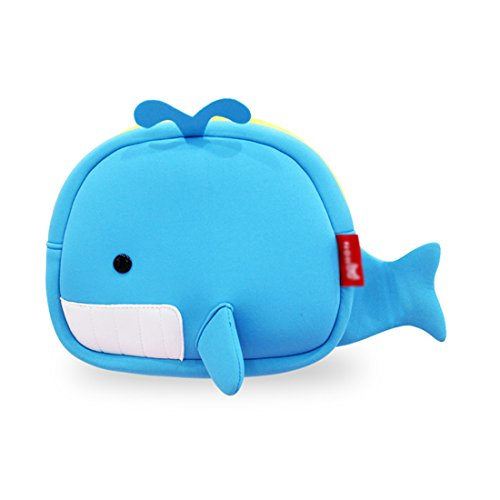 Nohoo® Kids shoulder bag 3D Cute Zoo Cartoon School whale crossbody (Goody Trolley compare prices)