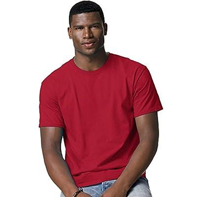 Hanes Adult Tagless® T-Shirt - Deep Red - 2XL
