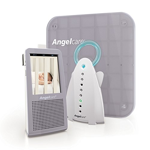 Angelcare Video, Movement and Sound Monitor, Gray/white - 1