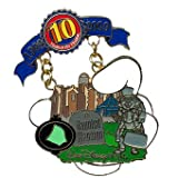Disney Pins - Disney Pin Trading 10th Anniversary - Limited Edition - Tribute Collection - Piece of Disney History - Haunted Mansion Pin 78067