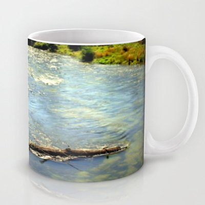 Society6 - Floating Log Coffee Mug By Chris' Landscape Images Of Australia