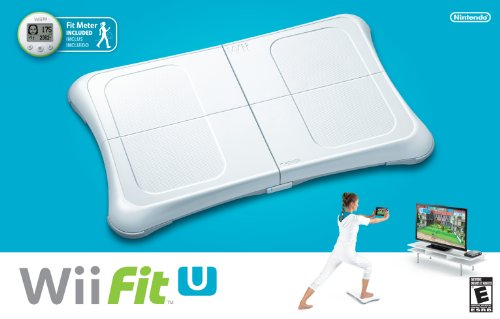Wii Fit U w/Wii Balance Board accessory and Fit