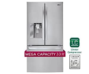 LG LFX33975ST 32.5 Cu. Ft. Stainless Steel French Door Refrigerator