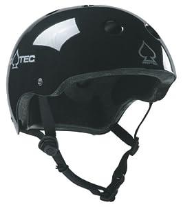 Protec Classic Helmet (Gloss Black, X-Small)