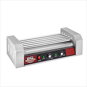 Big Dawg Commercial Five Roller Hot Dog Machine