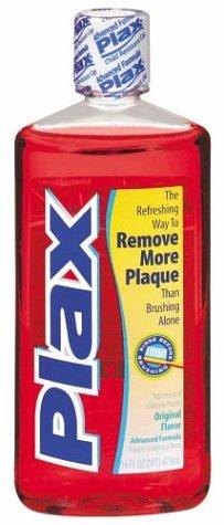 Plax Advanced Formula Pre-Brushing Dental Rinse Original 16 Ounce