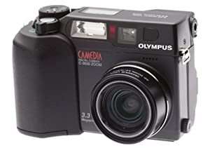 Olympus C3030 3.2MP Digital Camera w/ 3x Optical Zoom