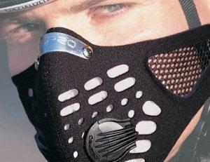 RESPRO(レスプロ) 排気・花粉・アレルギー対策 スポーツフィルター付属 スポーツバルブ付属 / ブラック / Mサイズ / スポーツタマスク