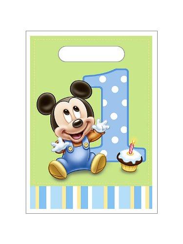 Mickey's First Birthday Treat Sacks