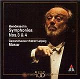 メンデルスゾーン : 交響曲第3番「スコットランド」&第4番「イタリア」