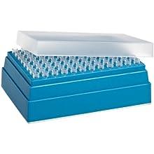 Wheaton W851239-01 Non-Sterile Pipette Microtip, 10 microliter Volume, Natural (Case of 10 Racks, 96 Tips Per Rack)
