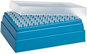 Wheaton W851239-01 Non-Sterile Pipette Microtip, 10 microliter Volume, Natural (Case of 10 Racks, 96 Tips Per Rack)