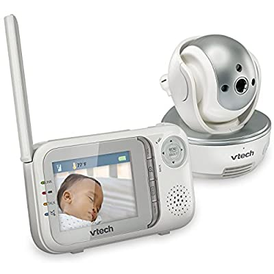 VTech Communications Safe and Sound Pan and Tilt Full Color Video Baby Monitor
