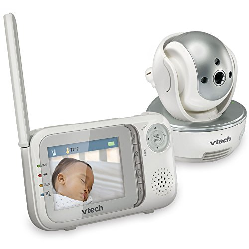 vtech vm333 safe sound video baby monitor with night vision pan tilt zoom and two way audio. Black Bedroom Furniture Sets. Home Design Ideas