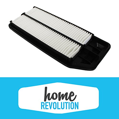 Cabin Rigid Air Panel Filter Compare to A25503 & CA9564; Home Revolution Brand Replacement Made to Fit Acura TSX & Honda Accord