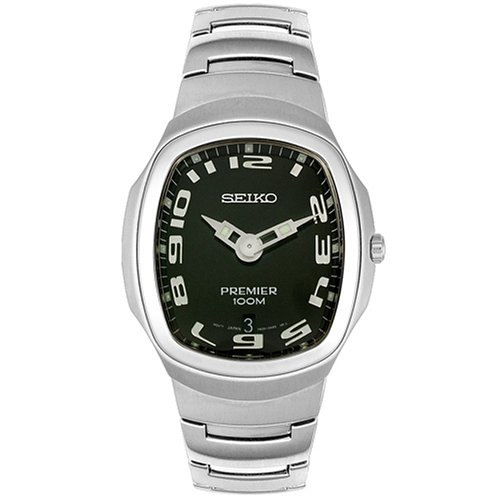 Seiko Men's Premier Stainless Steel Watch #SKP087 - Buy Seiko Men's Premier Stainless Steel Watch #SKP087 - Purchase Seiko Men's Premier Stainless Steel Watch #SKP087 (Seiko, Jewelry, Categories, Watches, Men's Watches, Casual Watches, Metal Banded)