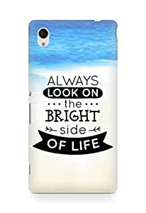 Amez Always look on the Bright Side of Life Back Cover For Sony Xperia M4