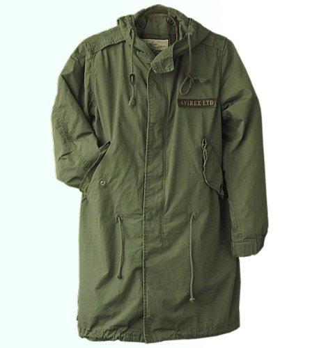 (アビレックス)AVIREX フィールドジャケット モッズコート M-51 av6122082