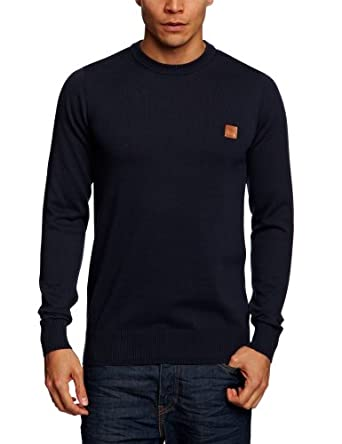 Bench - Pull - Homme - Bleu (Ny031 Blue) - FR : XL (Taille fabricant : XL)
