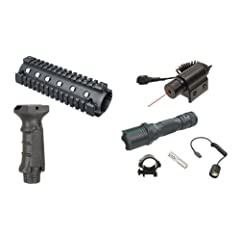 Ultimate Arms Gear AR15 AR-15 M4 Carbine Rifle Complete Combo: 2-Piece Aluminum... by Ultimate Arms Gear