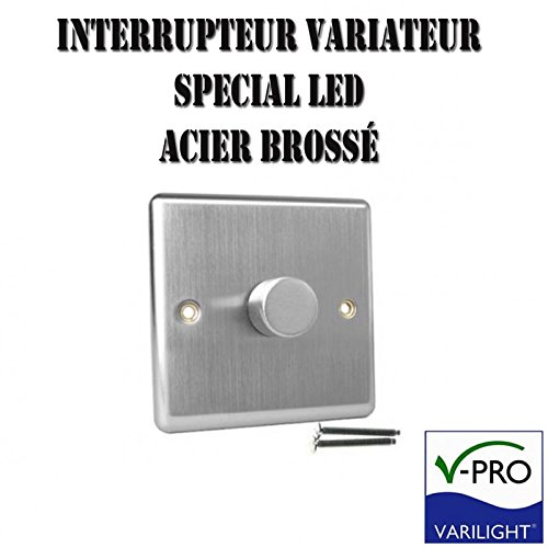 varilight-brushed-steel-led-dimmer-switch-v-pro-series-1-gang-single-1-or-2-way-400-watt-trailing-ed