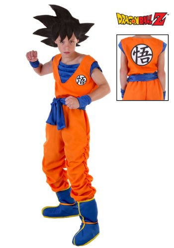 Boys' Dragon Ball Z Goku Halloween Costume