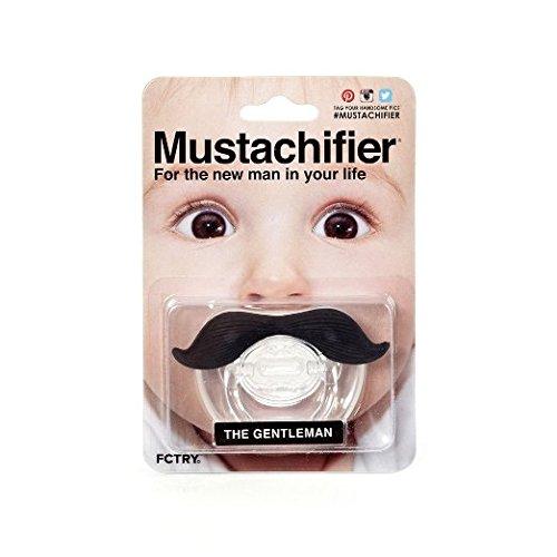 Mustachifier - The Gentleman Mustache Pacifier - Black
