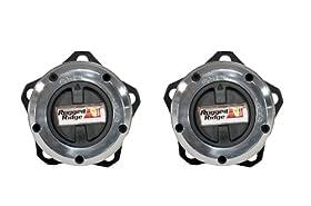 Rugged Ridge 15001.26 27 Spline 5-bolt Mount Manual Locking Hub