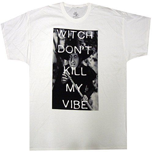 Wizard Of Oz Witch Don't Kill My Vibe Adult T-Shirt