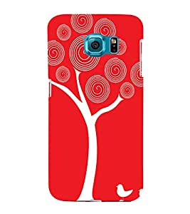 PrintVisa Nature Love Art 3D Hard Polycarbonate Designer Back Case Cover for Samsung Galaxy S6