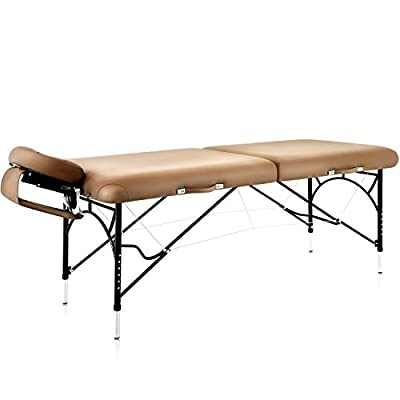"""Dr.lomilomi 30"""" Premium Portable Massage Table 301 Spa Bed with Carry Case and Cover Sheet Set"""