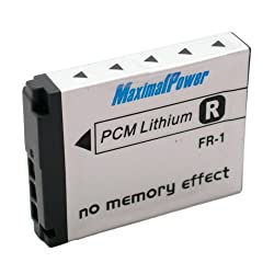 Maximalpower 1500 mah li-ion Battery pack for Sony NP-FR1 Cyber-Shot DSC-P200 DSC-T50 DSC-F88 DSCG1. DSC-P100 DSC-P100/LJ DSC-P100/R DSC-P120 DSCP150 Fuly Decoded w/ 3year warranty