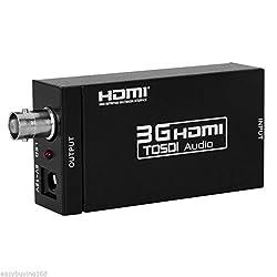 Generic HDMI to SDI Converter HDMI to SD-SDI/HD-SDI/3G-SDI Adapter Support 720p1080p