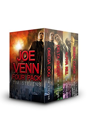 Tim Stevens - Joe Venn Four Pack (OMEGA DOG, DELTA GHOST, ALPHA KILL, SIGMA CURSE) (Joe Venn Crime Action Thrillers)