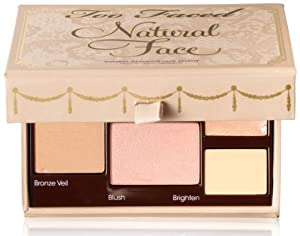 Too Faced Natural Radiance Face Palette, 0.65 Ounce