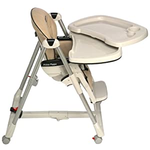 Peg perego prima pappa tan leatherette high chair from peg perego