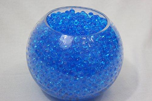 Lot de 10 sachets de perles d'eau Gel Bleu sol en Gel silicone Gel Bio d'eau pour la décoration de vases de mariage en cristal