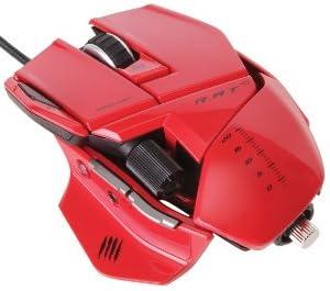 [Win8/Mac対応] R.A.T. 5 マウス レッド (MC-R5-RD)