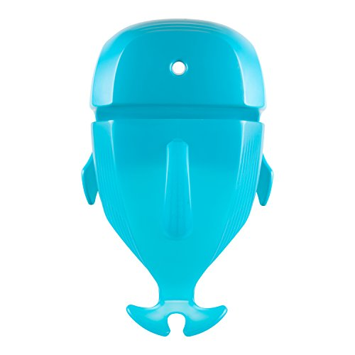 Boon Whale Pod Drain and Storage Bath Toy Scoop,Blue Image