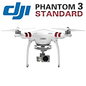 DJI Phantom 3 Standard Quadcopter Drone with 2.7K HD Video Camera from DJI