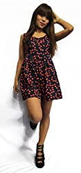 Sei Anders Cherry Printed dress