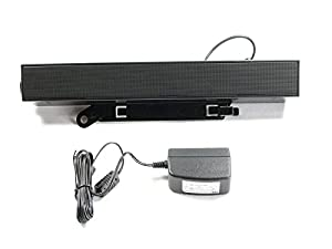 Dell C730C SoundBar Sound Bar Speakers AX510+AS510PA (Power Adapter Included) for Dell UltraSharp LCD Flat Panel Monitors from Dell Computers