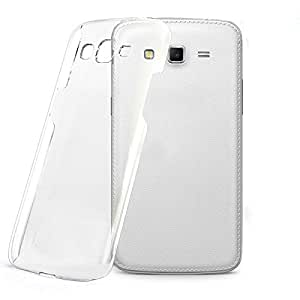 Halowishes Ultra Thin Crystal Clear Transparent Hard Case Back Cover for Samsung Galaxy Grand 2 G7106