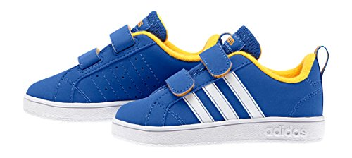 Adidas Advantage Vs Inf Scarpe Walking Baby, Bambino, Multicolore (Blue/Ftwwht/Sogold), 24