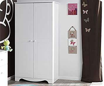 baby kleiderschrank iris wei taupe baby wtjcuvb. Black Bedroom Furniture Sets. Home Design Ideas