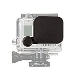 Generic Waterproof Camera Housing Lens & Lens Cap Cover for Gopro Hero 4 3+
